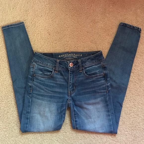 American Eagle Outfitters Denim - Light Wash Jeggings | AE